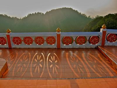 Soft Light on top of Wat Tham Seua