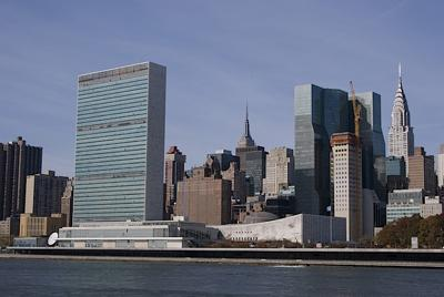 New York, United Nations Building