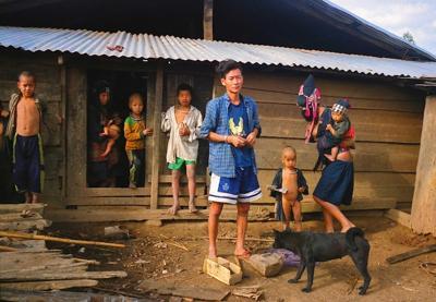 Aka Tribe, Northern Laos